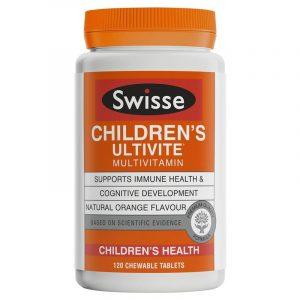 Swisse Children's Ultivite er tong wei sheng su ju jiao pian