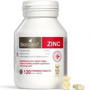Bioisland Zinc ying you er tian ran bu xin 120li