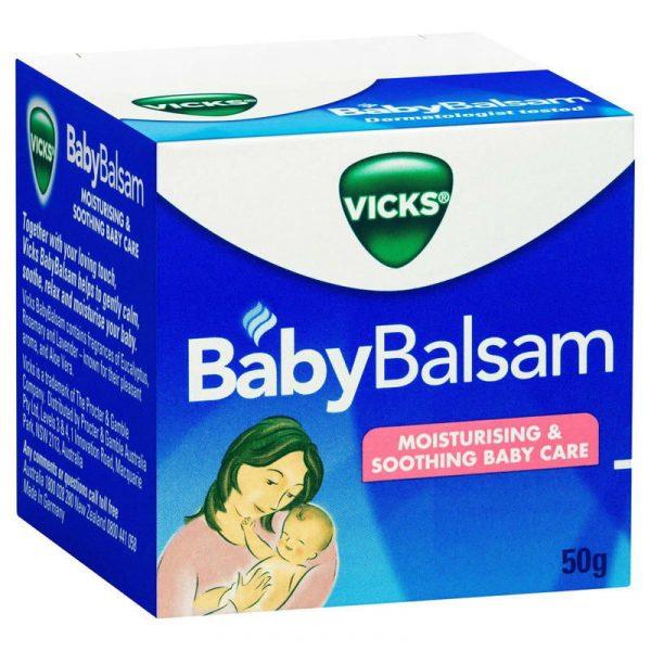 Vicks维克斯宝宝婴幼儿 鼻塞通鼻膏 50g