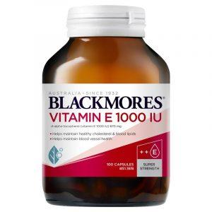 BLACKMORES 澳佳宝 维生素E胶囊 保护肌肤和心脏 1000IU 100粒