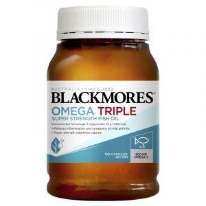 Blackmores 澳佳宝三倍浓缩深海鱼油 无腥味 150粒
