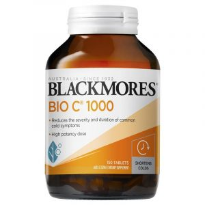 Blackmores Bio C 1000mg 维生素C 150粒