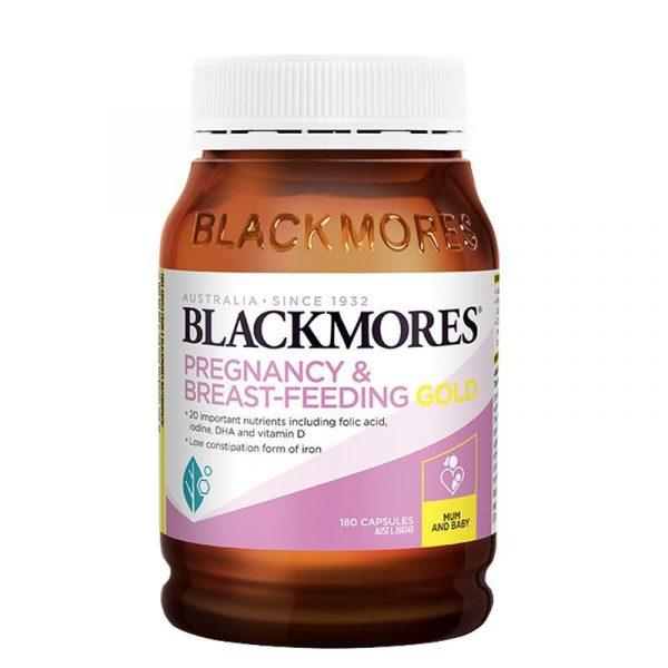 Blackmores 澳佳宝孕妇哺乳期黄金营养素180粒 含叶酸DHA
