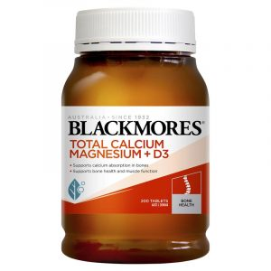 Blackmores 澳佳宝活性钙镁+维生素D3 200片