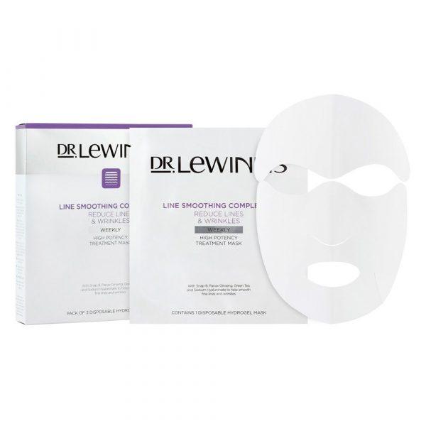 Dr.LeWinn's莱文医生八胜肽修护提拉 补水抗皱人皮面膜 3片装 1盒