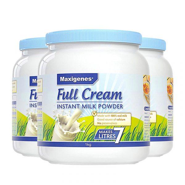 Maxigenes Full Cream Milk Powder美可卓蓝胖子成人全脂奶粉 1kg