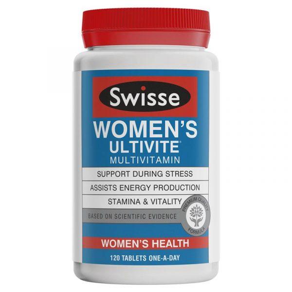 swisse 女士多维复合维生素 女维 120粒