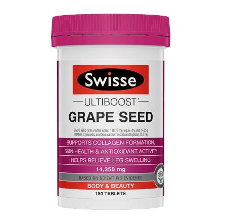 Swisse 高浓度葡萄籽 花青素180粒