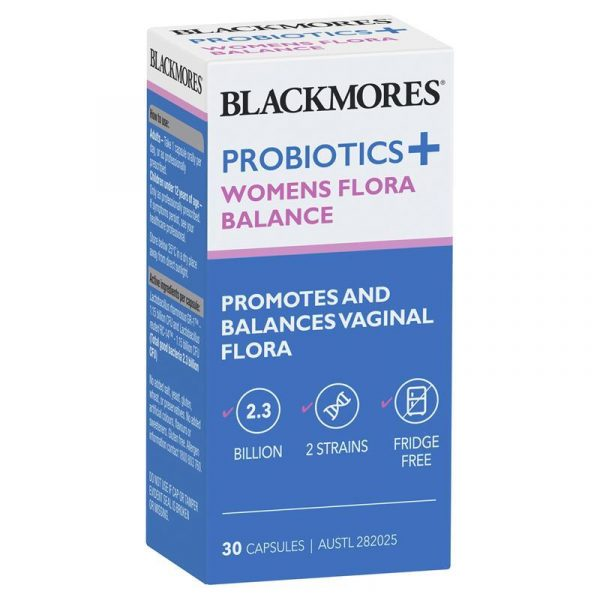 Blackmores澳佳宝益生菌女性菌群平衡胶囊