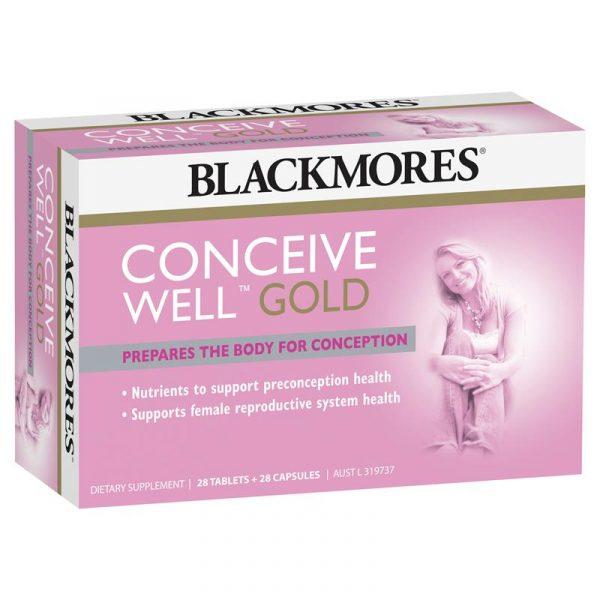 Blackmores 澳佳宝孕妇黄金营养素28片+28胶囊