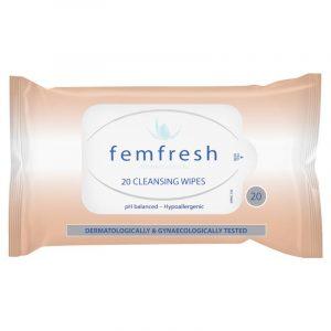 Femfresh 女性私处温和洁肤湿巾 20片