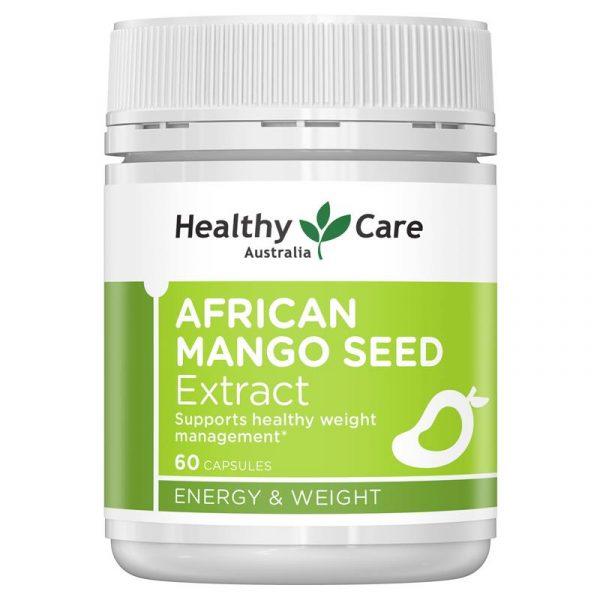 Healthy Care 高浓度非洲芒果籽精华减肥瘦身美体塑形 150mg 60粒