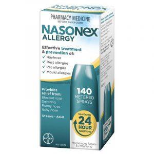 NASONEX内舒拿 鼻炎喷雾