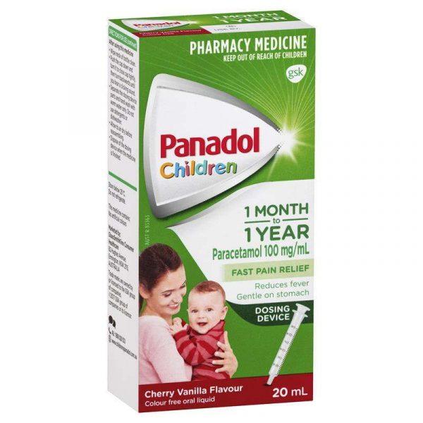 Panadol 必理痛(1个月以上到两岁)