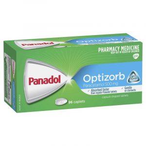 Panadol必理痛止痛胶囊片 (Optizorb配方)