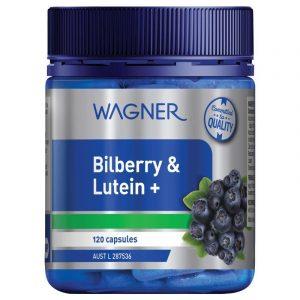 Wagner瓦格纳蓝莓山桑子叶黄素胶囊