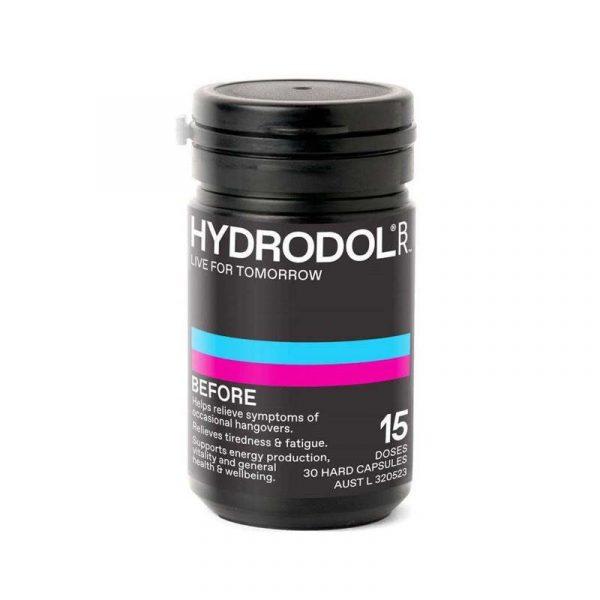 Hydrodol 宿醉解酒胶囊 3