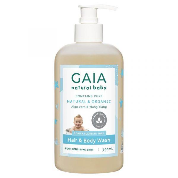 Gaia 宝宝温和二合一洗发沐浴露 500ml