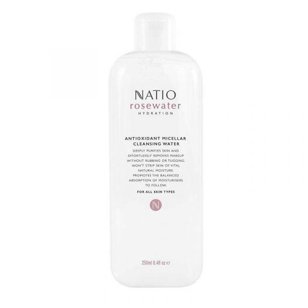 Natio 娜迪奥 玫瑰保湿抗氧化胶束洁肤卸妆水 250ml