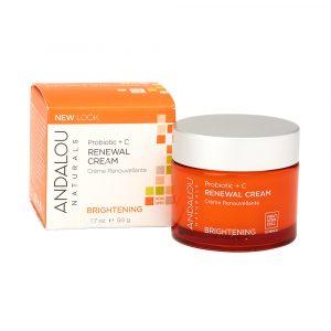 Andalou Naturals 益生菌+维生素C修复焕活面霜 50g