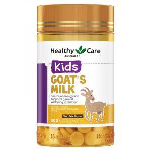 Healthy Care 天然山羊奶儿童钙片300粒