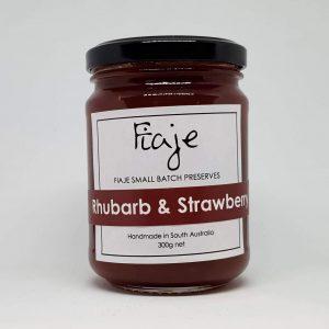 Fiaje大黄草莓果酱300g