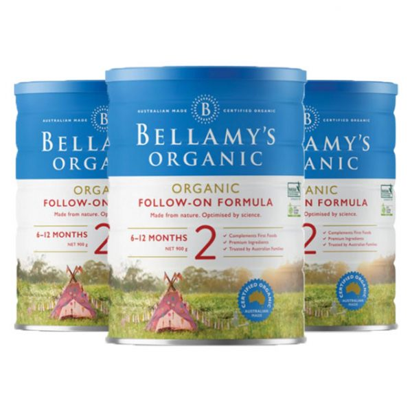 Bellamy's 贝拉米 有机婴幼儿配方奶粉 (2段)
