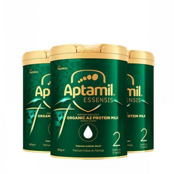 Aptamil Essensis 爱他美奇迹婴儿奶粉 A2 1段 6-12个月宝宝 900g 罐装