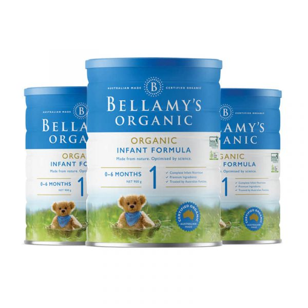 Bellamy's 贝拉米 有机婴幼儿配方奶粉 (1段) 0-6个月