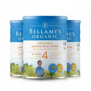 Bellamy's 贝拉米 有机婴幼儿配方奶粉 (4段) 3岁以上