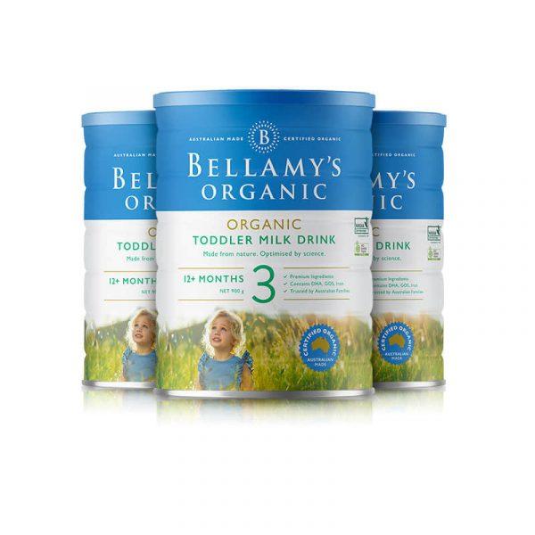 Bellamy's 贝拉米 有机婴幼儿配方奶粉 (3段) 1岁以上 900g