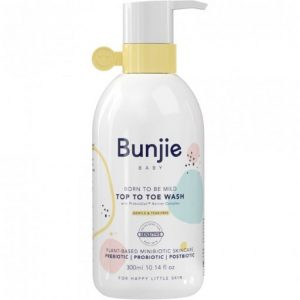 BUNJIE 婴儿专用身体洗发水两用沐浴露 300ml