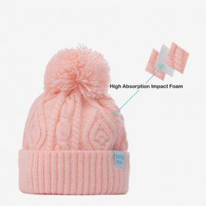 Tumbl Bear 糖寶帽 兒童安全帽 (粉红色)