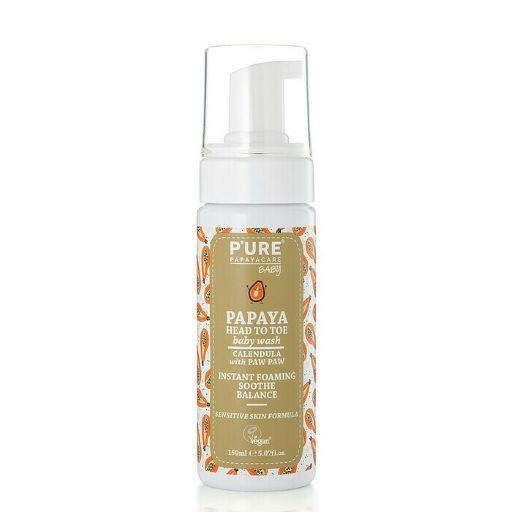 Pure Papaya 婴儿身体洗发水两用沐浴露 150ml